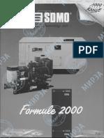 Brochure SDMO Generation 2000 English