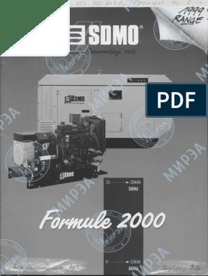 Brochure SDMO Generation 2000 English   Mains Electricity ... on