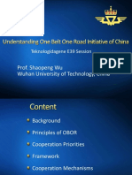 03 - Understanding One Belt One Road Initiative of China - Shaopeng Wu
