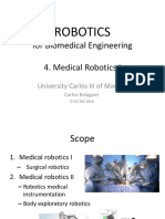 Theory_Robotics for BioMedical Engineering 4 2016