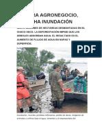 siembra agronegocio-cosecharas inundacion