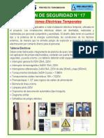 Boletín Nº17_Instalaciones Eléctricas Temporales