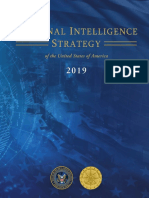 National Intelligence Strategy 2019