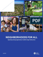 Neighborhoods for All