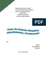 PDF Primero Informe de Ing Economica