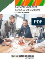 Guía para emprendedores_  Cómo acelerar el crecimiento de una Pyme