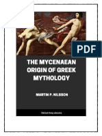 Mycenaean Origin of Greek Mythology