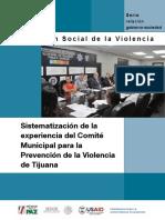 Sistematizacion CMPV de Tijuana