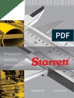 Starrett Catalogue 32Ε