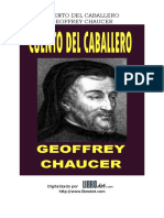 Chaucer Geoffrey - Cuento Del Caballero.DOC