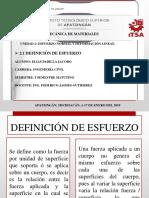 Unidad II Esfuerzo y Deformacion Normal Elias Padilla Jacobo