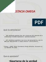 Apostacia Omega