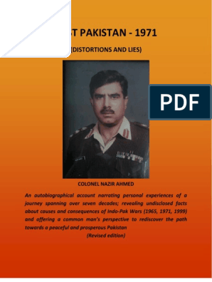 East Pakistan 1971 - Distortions and Lies - Revised Edition