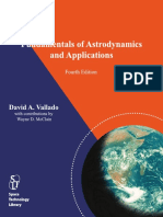 Vallado 4th Edition Fundamentals of Astrodynamics and Applications