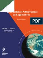 Vallado 4th Edition Fundamentals of Astrodynamics and Applications