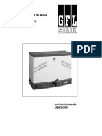 MANUAL Destilador GLF 4 - 8 Español