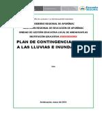 Plan de Contingencia Ante Lluvias-2018
