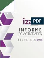 Informe de Actividades IZAI 2018