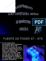 PRESENTA FUENTE DE PODER