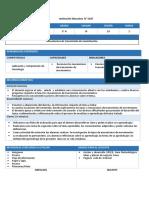 Competencias y Capacidades Nivel Secundaria Ebr