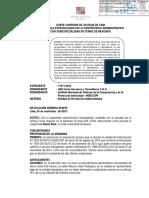 Nulidad de Resolucion Indecopi Proce Concursal
