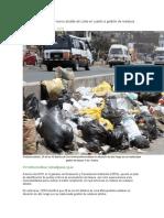 Ambiente y Recursos Naturales en Nel Perú 2011- 2016