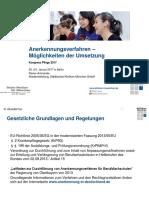 Ammende Rainer Anerkennungsverfahren Moeglichkeiten Der Umsetzung