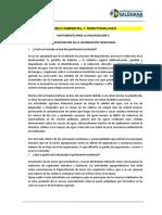 Instrumento Organizacion Sistematizacion de La Informacion Territorial
