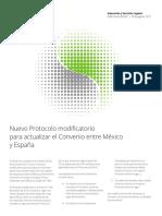Convenio Mexico Espana 2017