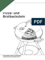 Pizza Schamottstein