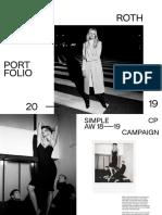 Olga Roth Portfolio 2019