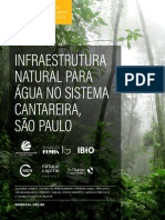Infraestrutura Natural Para Água No Sistema Cantareira Em São Paulo