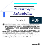 Administração Eclesiastica -