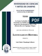 Historia Zoque de Tapalapa, Chiapas