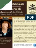 Bambi Sheleg Jewish Journal Ad