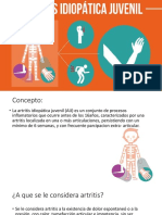 Artritis Reumatoide Juvenil Presntac