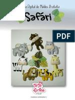 Apostila safari feltro gratuita