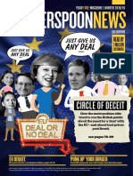 Winter 2018 Wetherspoon News Brexit Circle of Deceit Over No Deal