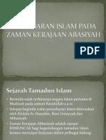 Penyebaran Islam Pada Zaman Kerajaan Abasiyah