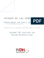 Informe del INDH del C.C.P Santiago Sur.