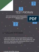 Test Pikiran Pp