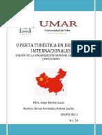 Corrección Destino Internacional China 3p