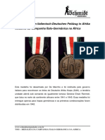 T008 - Medalha Da Campanha Italo-Germanica Na África