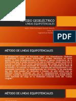 Método Geoeléctrico - Método de Lineas Equipotenciales
