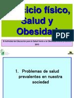 PPT Ejercicio Fisico, Salud y Obesidad, Web, 2015