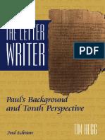 Book - Letter-Writer Paul by Tim Hegg.pdf