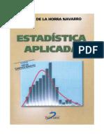 ESTADÍSTICA APLICADA, 3a. Edición - JULIAN DE LA HORRA NAVARRO (2018).pdf