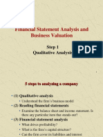 FINE4016 Lecture Slides (Financial Statement Analysis I) 20170321 - Student Version