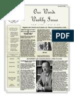 Newsletter Volume 10 Issue 04