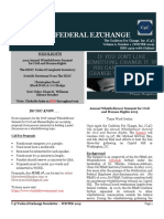 The C4C Federal Exchange News WINTER 2019.  ISSN 2375-7086  (On-line)